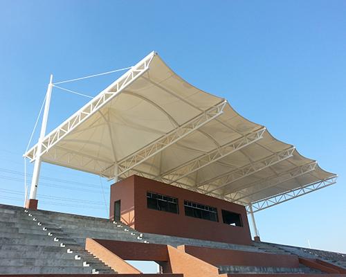 膜结构体育场看台工程
