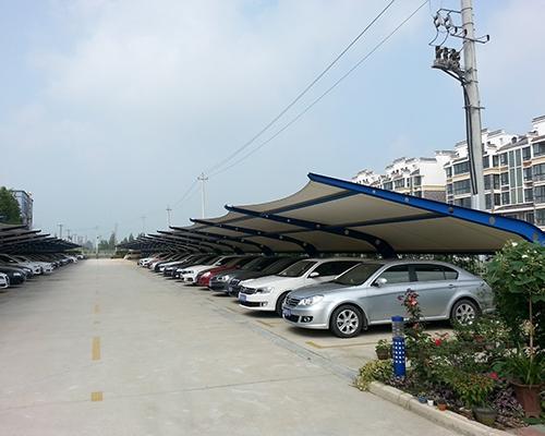 膜结构汽车棚制造厂家