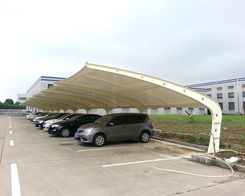 膜结构汽车棚价格