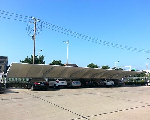 膜结构汽车棚工程