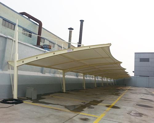 膜结构汽车棚生产