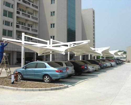 膜结构汽车棚定制价格