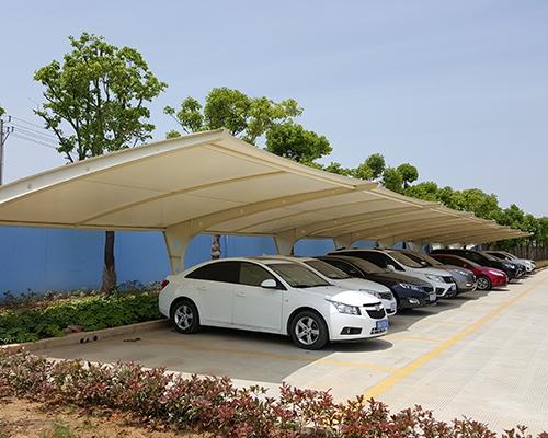 膜结构汽车棚安装费用